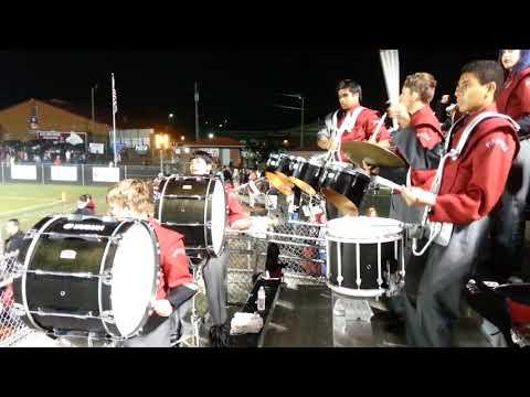 Monkey Express - Boaz High School Marching Pirate Drumline 2017