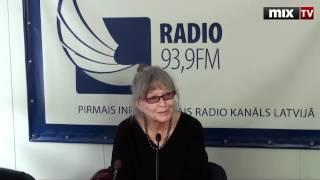 Марина Влади на радио Балтком