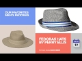 Fedoras Hats By Perry Ellis Our Favorites Men's Fedoras