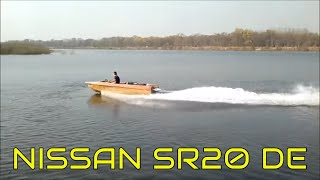 NISSAN SR20DE + водомет на лодке 'Крым' (#2) | car motor on boat