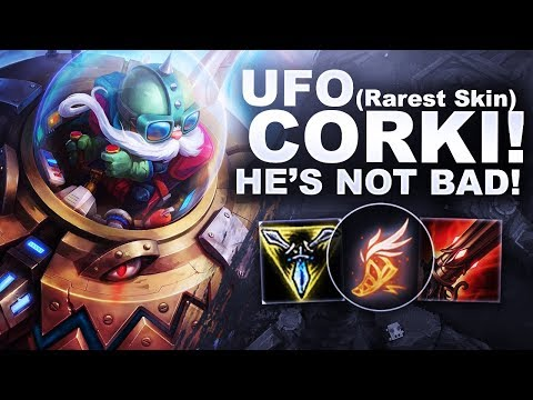UFO CORKI BABY! HE'S NOT BAD IN MID! | League Of Legends