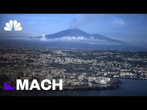 Mount Etna Is Sliding Into The Sea. It Could Be Catastrophic | Mach | NBC News