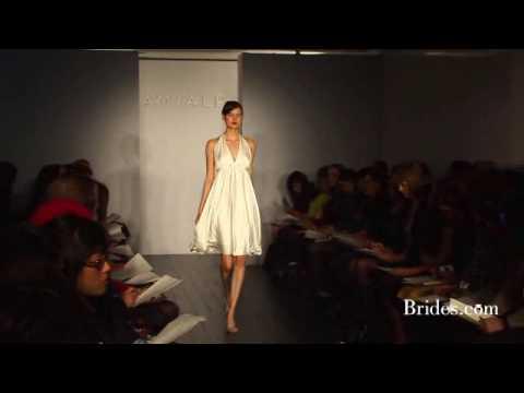 Brides.com - Amsale Spring 2010 Runway Show