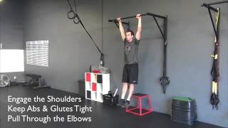 How to do a proper pullup...and NONE of that kipping crap:)