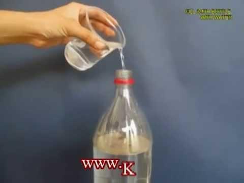 Как сделать бульбик из бутылки и табака
