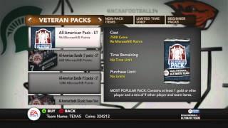 #NFUT14 | More Bad All American Pack Openings | Bleep Those Hiesman Packs