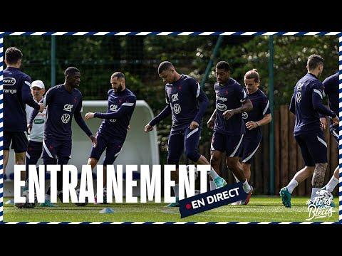 Le replay de l'entraînement des Bleus samedi 5 juin à Clairefontaine