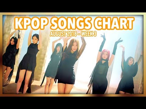 K-POP SONGS CHART | AUGUST 2018 (WEEK 3)