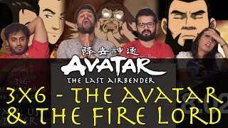 Avatar: The Last Airbender - 3x6 The Avatar and The Fire Lord - Group Reaction