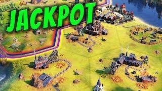 Resource Jackpot! - Civilization 6 Gathering Storm Deity Part 16