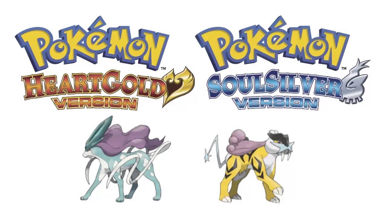 Pok mon heart gold soul silver legendary beasts - Pokemon argent pokemon rare ...