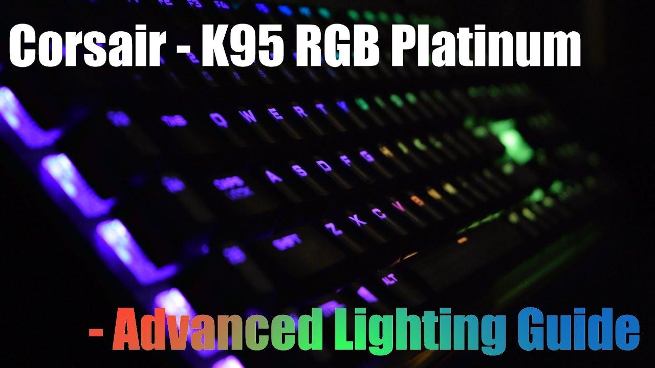 Corsair K95 RGB | Advanced Lighting Guide!  sc 1 st  YouTube & Corsair K95 RGB | Advanced Lighting Guide! - YouTube azcodes.com