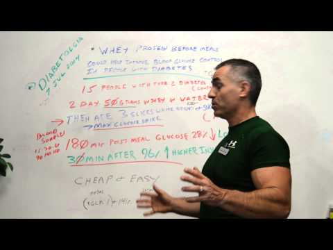 Whey Protein and Diabetes