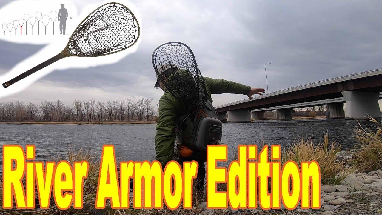 fishpond Nomad Mid-Length Net River Armor
