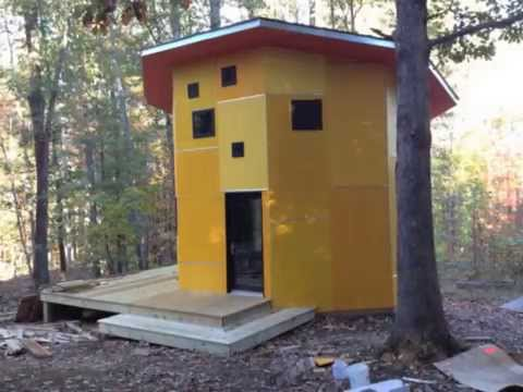 How to build an octagonal house