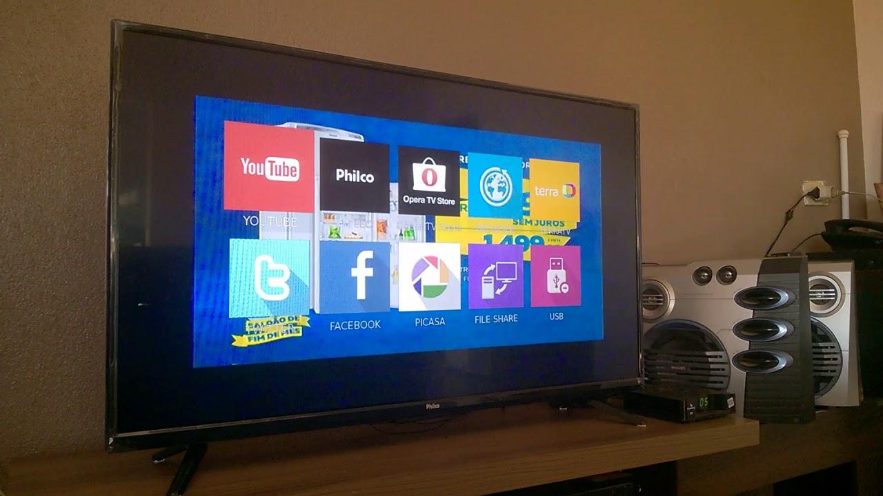 COMO CONFIGURAR TV PHILCO MODELO PH48B4OSGW CONFIGURAR WIRELESS ...