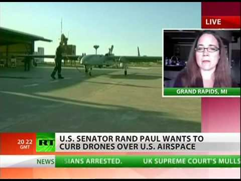 Is Rand Paul really fighting drones?