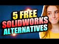 TOP 5 FREE SOLIDWORKS ALTERNATIVES | BEST FREE 3D MODELING CAD SOFTWARE FOR 3D PRINTING 2019