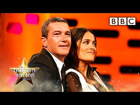 Salma Hayek's Breasts  The Graham Norton   Series 10 Episode 7  BBC One