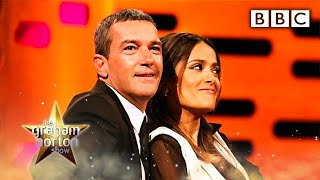 Salma Hayek's Breasts - The Graham Norton Show - Series 10 Episode 7 - BBC One thumbnail