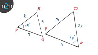 * Ejercicios de triángulos semejantes