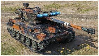 AMX 13 105 • 10K DAMAGE on the LIGHT TANK • WoT Gameplay