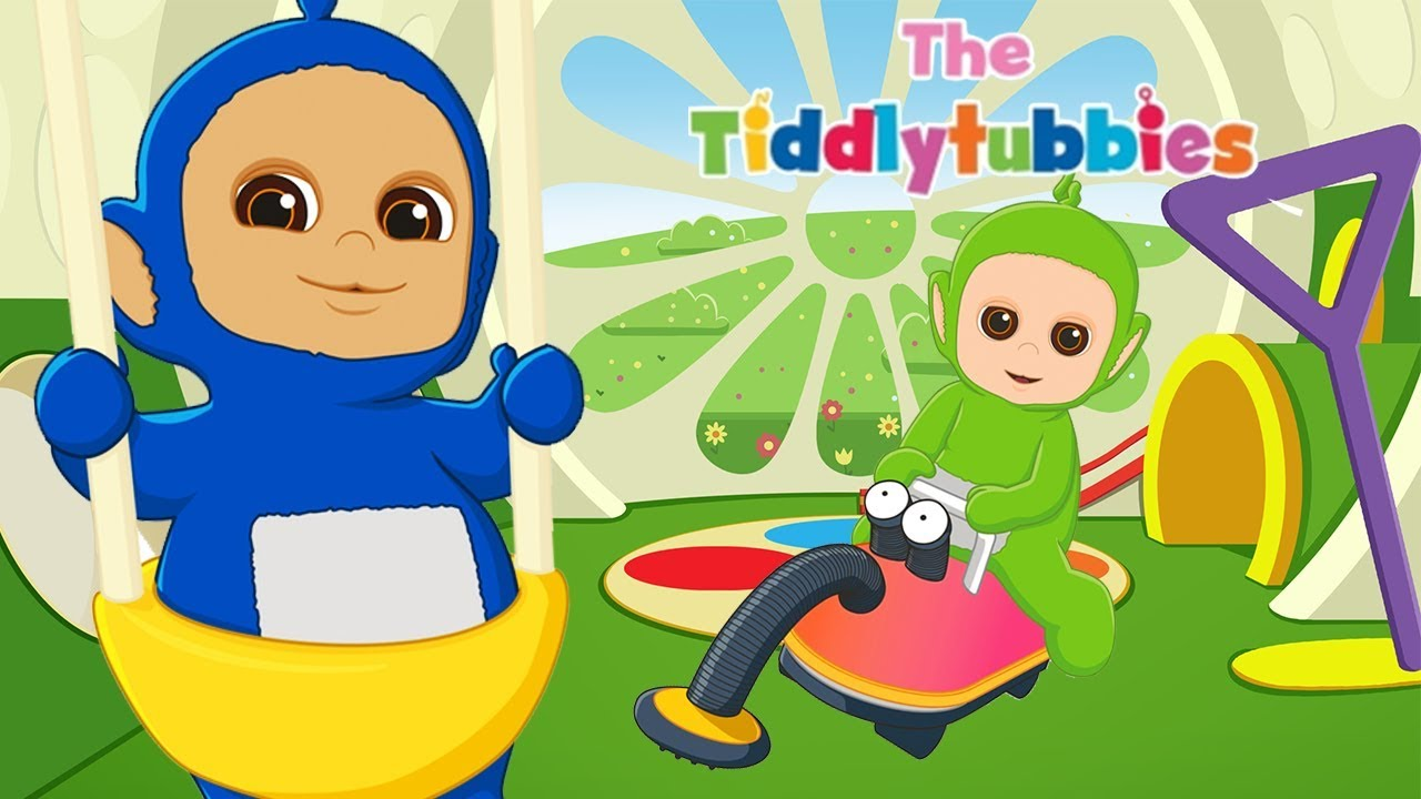 Teletubbies ☆ NEW Tiddlytubbies Cartoon Series! ☆ Episode 1  The Baby  Bouncer ☆ Cartoons for Kids 507b2ade1bea