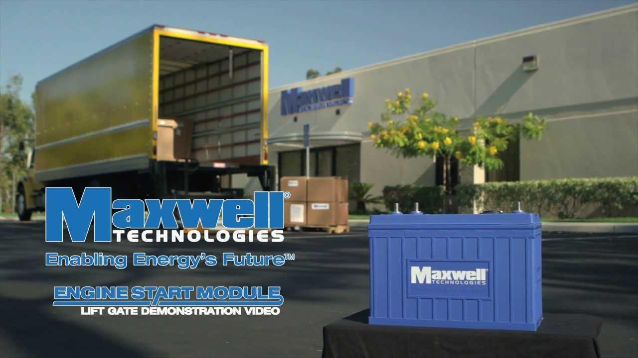 Maxwell Technologies Engine Start Module (ESM) Lift Gate Demonstration