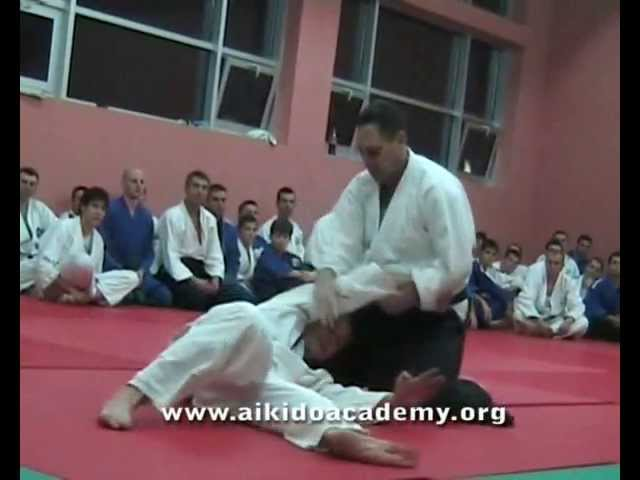 The first Yoshinkan Aikido Seminar in Serbia ever