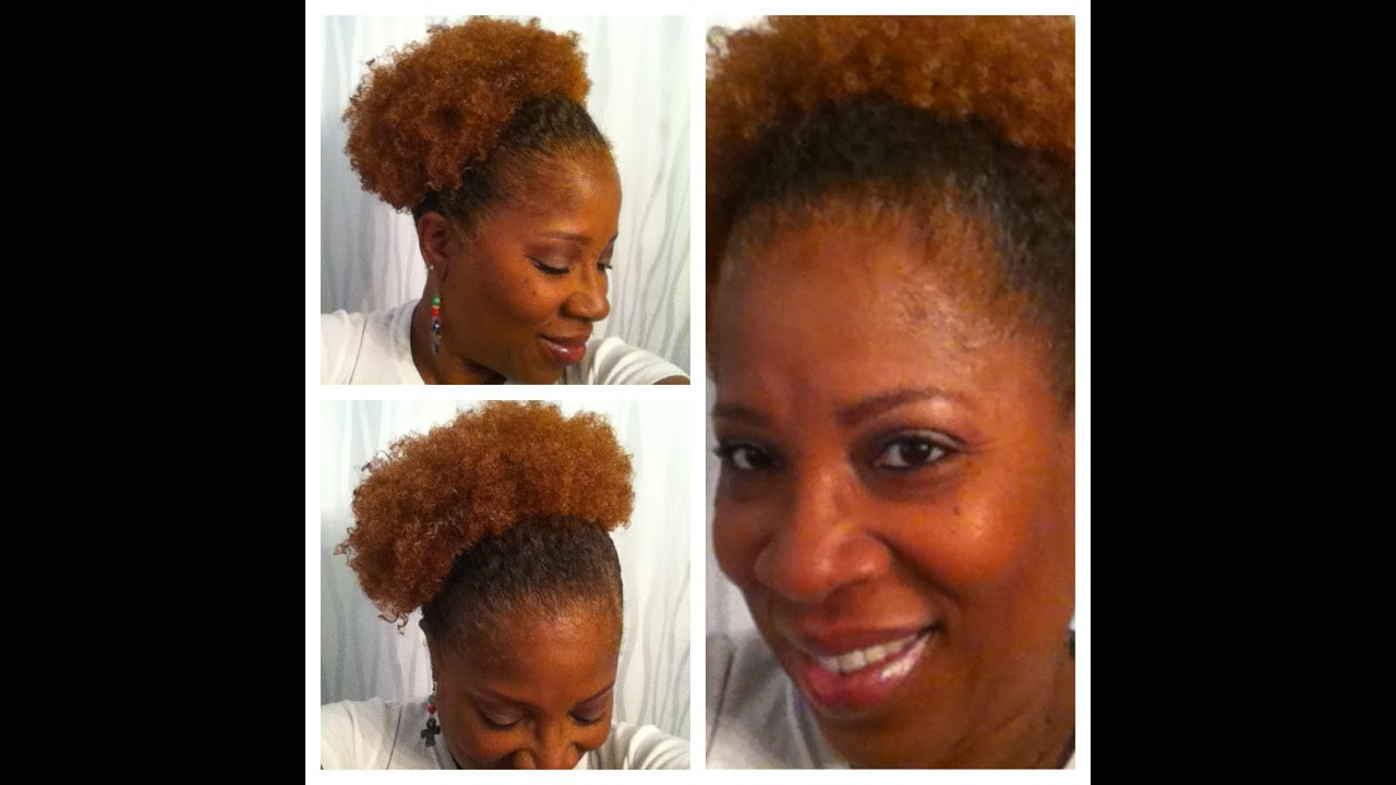 Color Results 3rd Attempt On My 4c Natural Hair Youtube