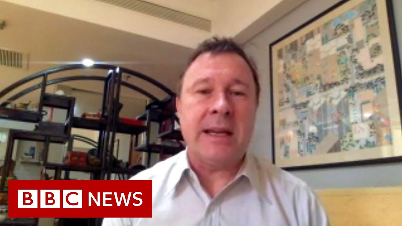 Coronavirus: Reporter begins quarantine at home after visiting infected zone - BBC News Смотри на OK