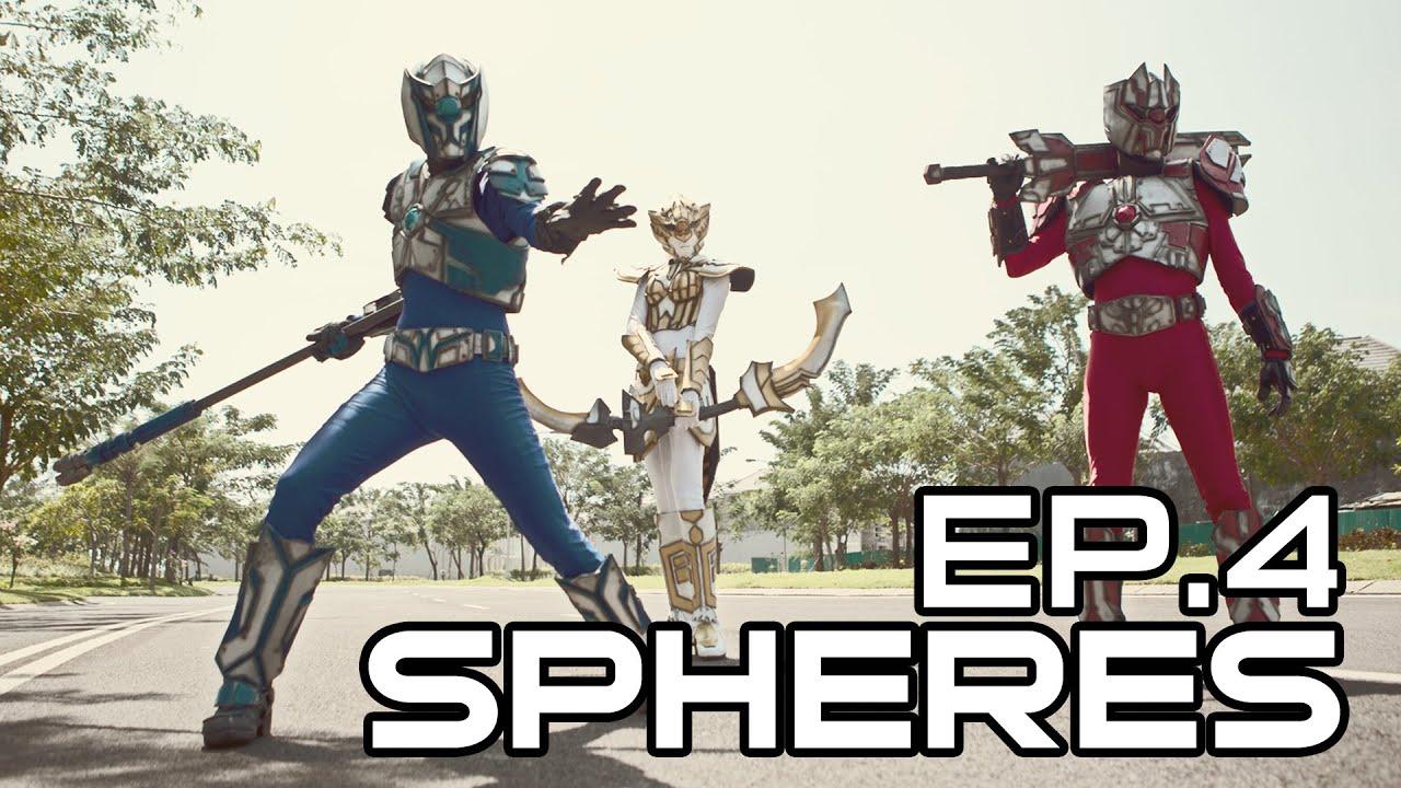 Spheres Trinity (Indonesian Tokusatsu Webseries) - Episode 4 (ENG SUB)