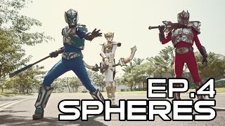 Spheres Trinity (Indonesian Tokusatsu Webseries) - Episode 4 (ENG SUB)