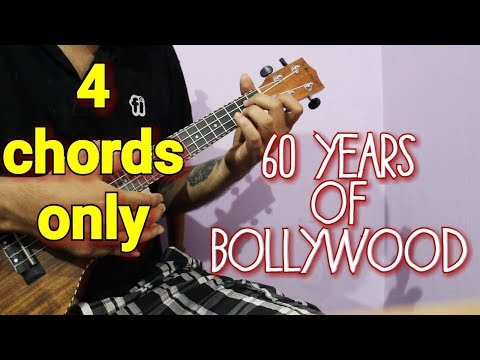 60 Years of Bollywood in 4 Chords - ScoopWhoop | Ukulele Lesson for Beginners