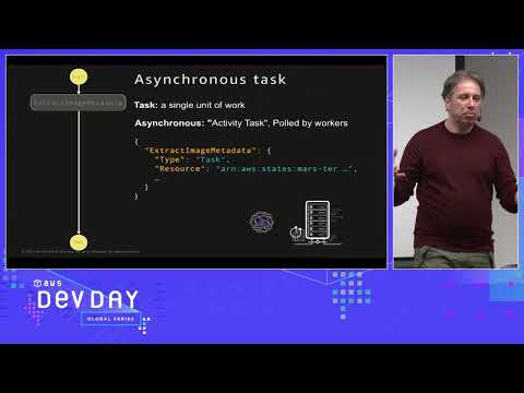 AWS DevDays Nordics - Building Advanced Serverless Applications with AWS Step Functions