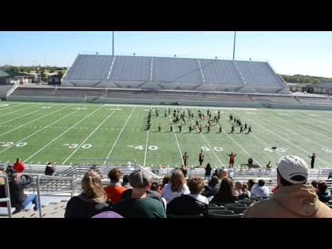 Nocona High School Marching Band UIL Marching Contest Denton Texas 10-19-13