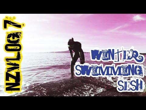 New Zealand Vlog#7 Winter Swimming Sesh I Зимние поплавушки
