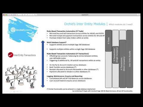 Inter Entity Transactions for Sage 300 - Demo Webinar