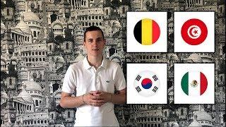 Бельгия - Тунис Южная Корея - Мексика прогнозы на футбол | чемпионат мира 2018