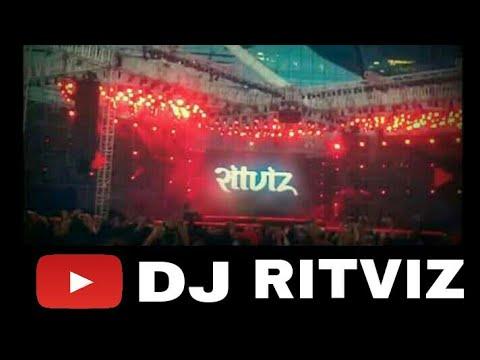 DJ Ritviz @ Youtube Fanfest - Mumbai 2018 |crowd on fire|