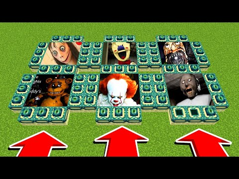 DO NOT CHOOSE THE WRONG ENDPORTAL (FreddyFazebear,IcescreamPennywise)(Xbox360/PS4/XboxOne/PE/MCPE)