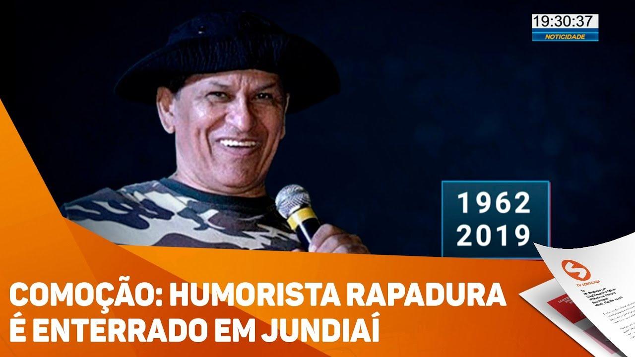 Humorista Rapadura é enterrado em Jundiaí - TV SOROCABA/SBT