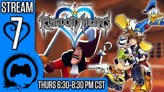 KINGDOM HEARTS Part 7 - Stream Four Star - TFS Gaming