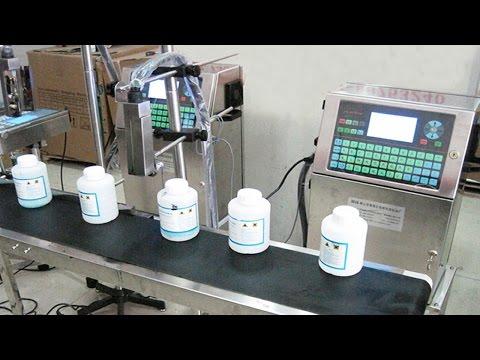 Date Coder Ink Printer Equipment Computer Controller Printing Machine Máquina De Impresión De Tinta