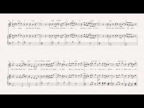 Flute - Bless the Broken Road - Rascal Flatts Sheet Music, Chords, & Vocals
