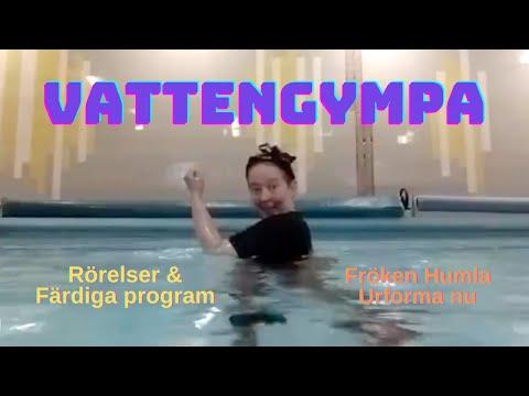 Vattengympa - rörelser & tips 1