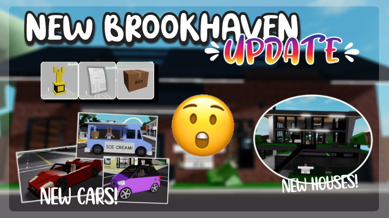 NEW BROOKHAVEN UPDATE 2 new house new cars and MORE Roblox