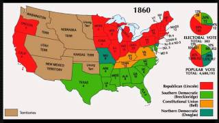 The Election of 1860 and the Start of the Civil War