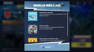 BOUTIQUE FORTNITE DU 04 JUIN §! NEWS ARME (SECRET) LE REBONDISSEUR SUR FORTNITE !!