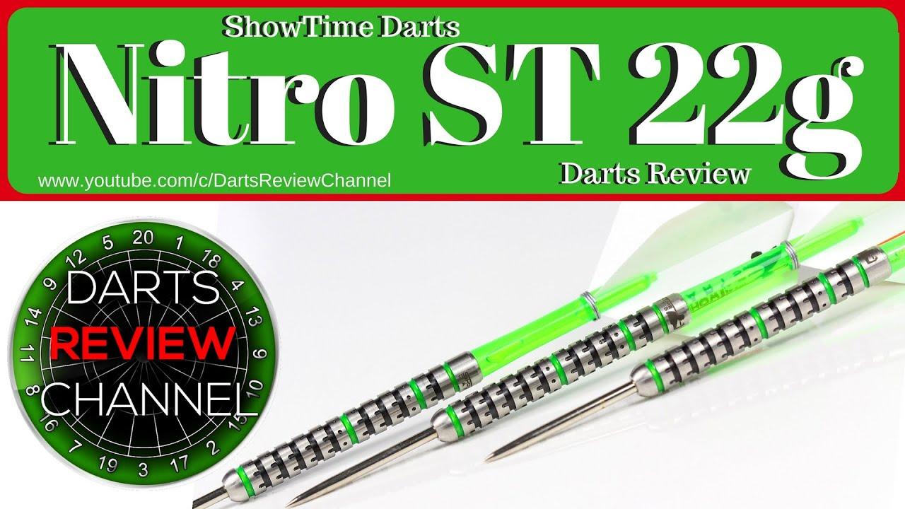 Showtime Mark /'Nitro/' Lawrence 22g dart set